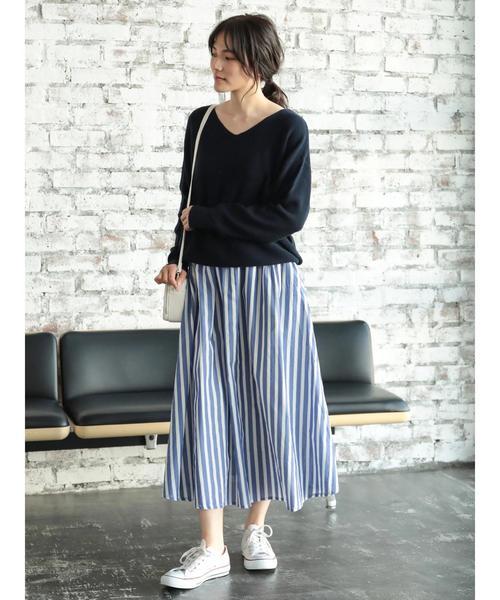 [AMERICAN HOLIC] ロングギャザースカート