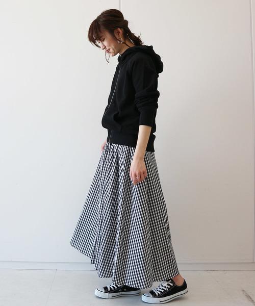 モノトーンコーデ【スカートスタイル】3