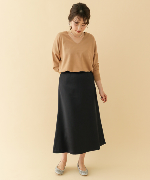 [ITEMS URBANRESEARCH] サテンマーメイドスカート