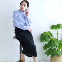 クラシカルな上品さを演出☆「スタンドネックシャツ&ブラウス」で作る春コーデ集