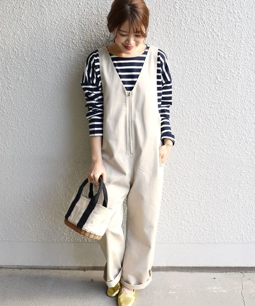 [SHIPS for women] SHIPS Days STANDARD:バスクボーダー カットソー 19SS