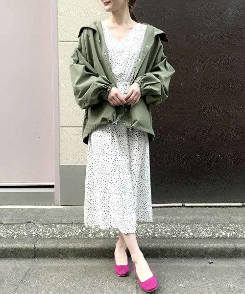 [archives] 【限定item!!】花柄&ドットガウンワンピース