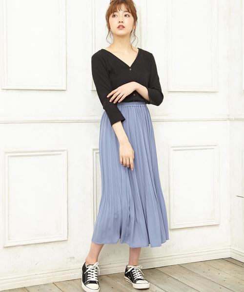 [INGNI] JZプリーツ/スカート