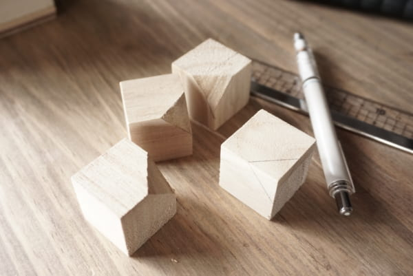 ダイソー 木箱 DIY7