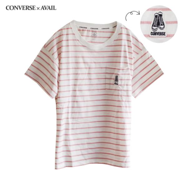定番スニーカーが可愛い♡「コンバース」Tシャツ
