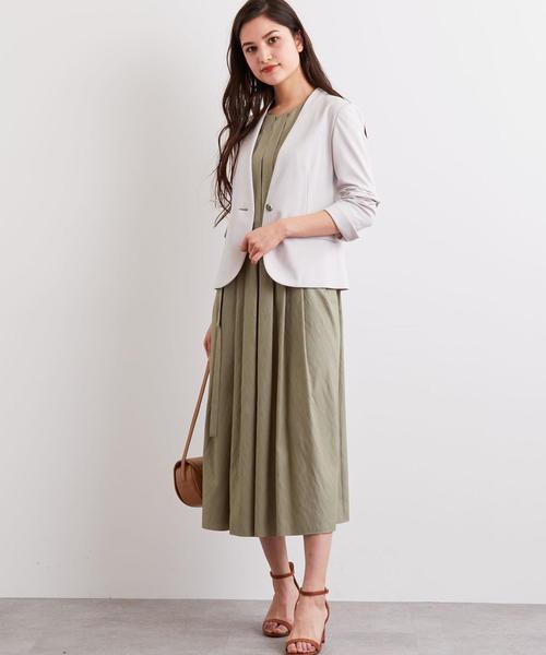 [green label relaxing] [洗濯可能] ◆D モクロディ ノーラペル ジャケット