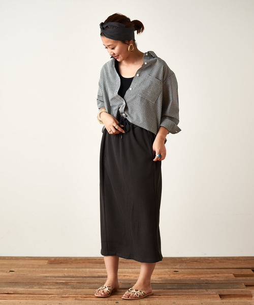 [CIAOPANIC TYPY] サーマルイージーIラインスカート