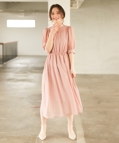 [mysty woman] カットドビーシアドレス 828742