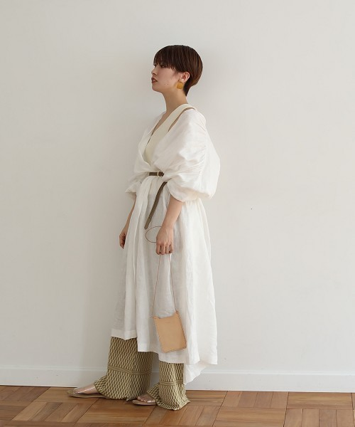 """[CANAL JEAN] TODAYFUL(トゥデイフル) """"Linen Gather Gown""""リネンギャザーガウン2"""