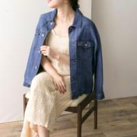 アクティブな印象に♡《デニムジャケット・デニムシャツ》で春コーデを楽しむ!