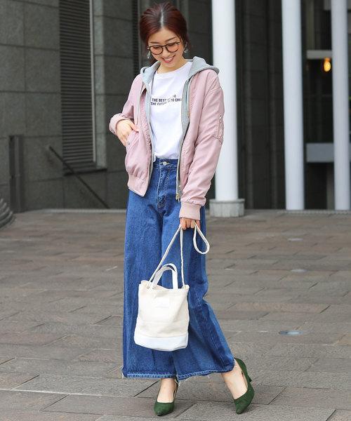 [Fashion Letter] レギュラー MA-1 フライトジャケット