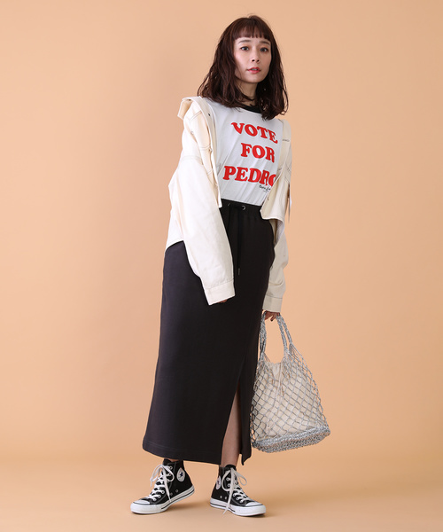 [FREAK'S STORE] スウェットタイトスカート