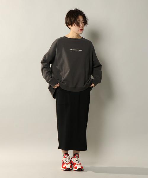 [notch.] 変形ワッフルスカート