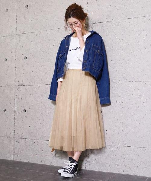 [reca] チュールレーススカート