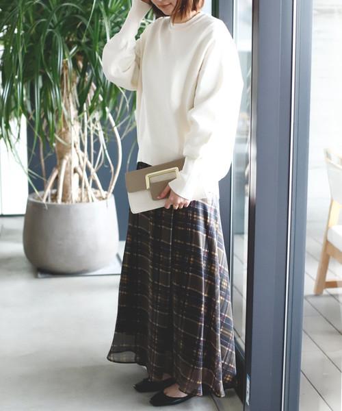 [Ane Mone] 艶めき金具の2WAYクラッチバッグ