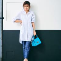 幼く見せない!30代40代の大人女性はカラー・柄アイテムをどう着こなす?