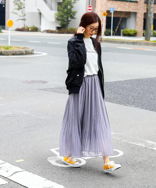 [Fashion Letter] オーバーサイズ ビッグ MA-1