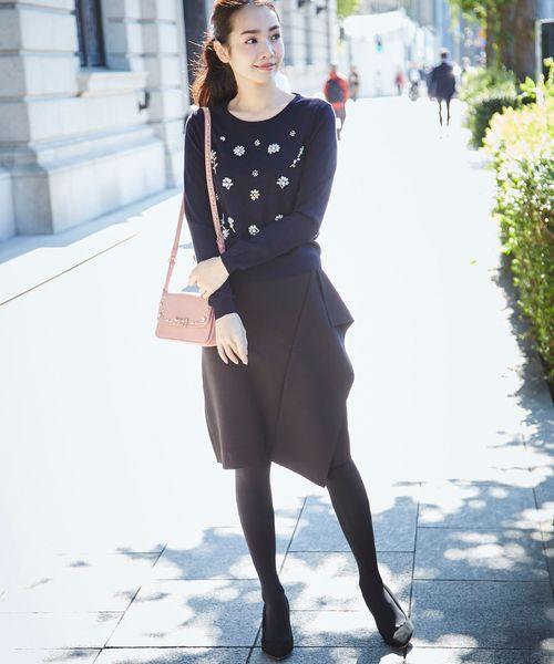 [tocco closet] デザインタイトスカート