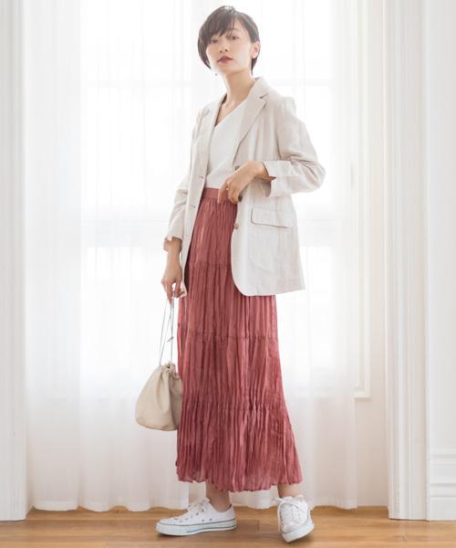 ティアードデザイン スカート4