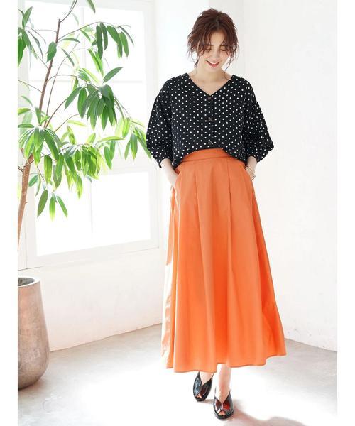 オレンジスカート2