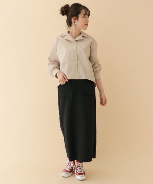 ウエストイージータイトスカート