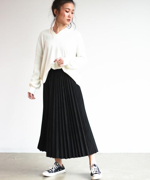モノトーンコーデ【スカートスタイル】10