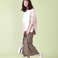 軽やかで春にピッタリ♡ロングスカート・ワンピースで女性らしさをぐっと格上げ!