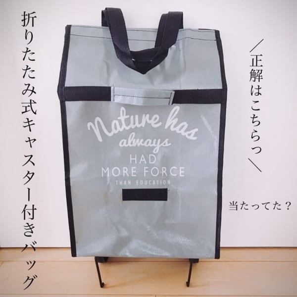 3COINSのショッピングバッグ