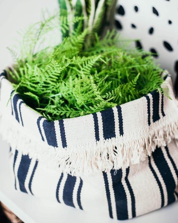 IKEA 平織りラグ リメイク