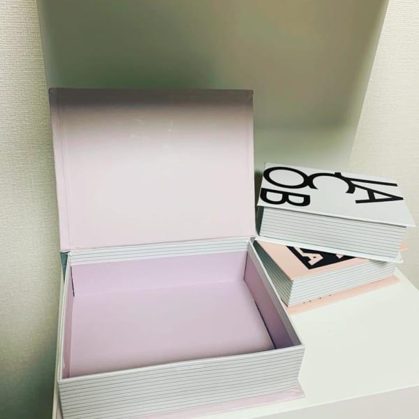 キャンドゥのブック型収納ボックス2