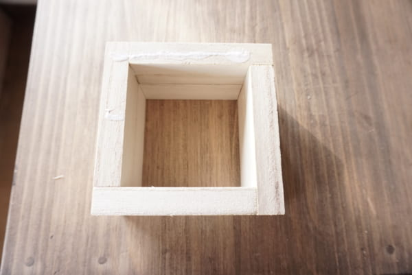 ダイソー 木箱 DIY3