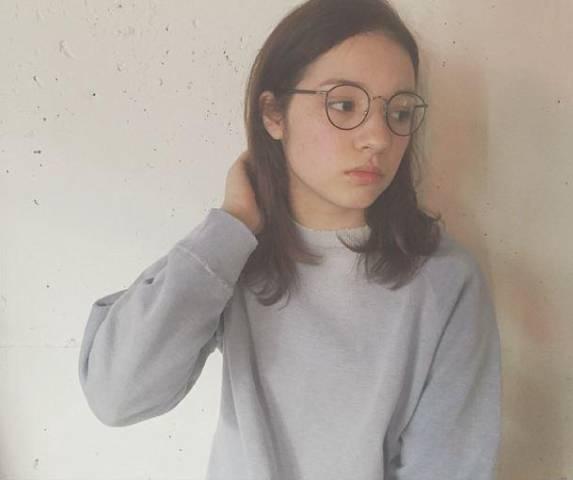 メガネ 前髪6