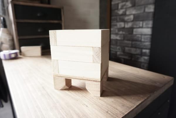 ダイソー 木箱 DIY9