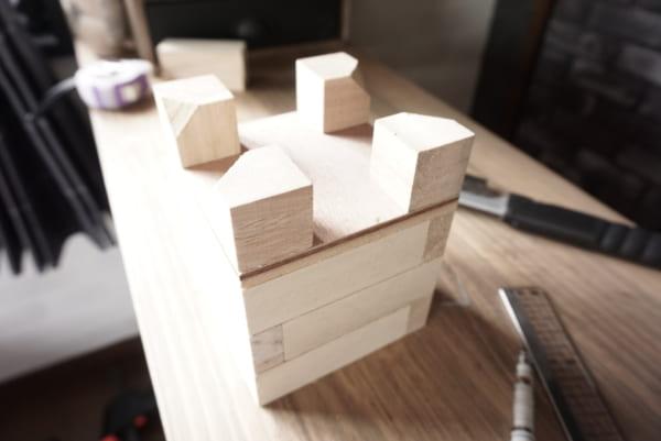 ダイソー 木箱 DIY8