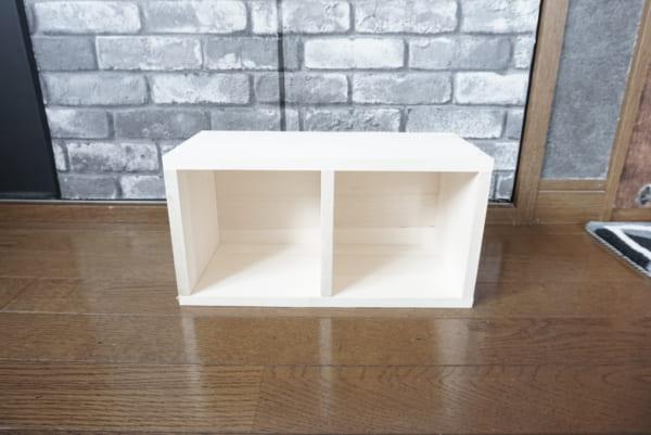 ダイソー 木箱DIY 作り方6