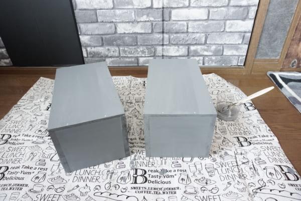 ダイソー 木箱DIY 作り方7
