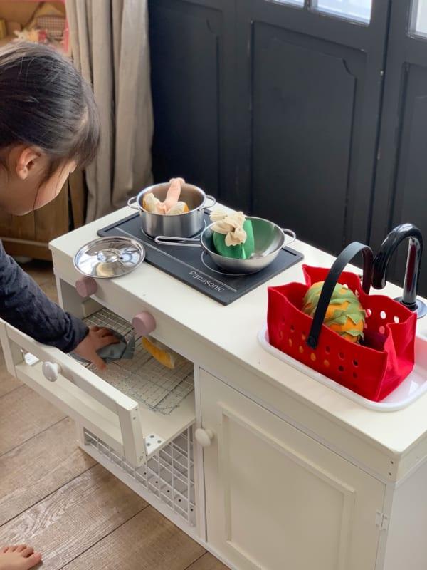 カラボと100円グッズで作るおままごとキッチン15