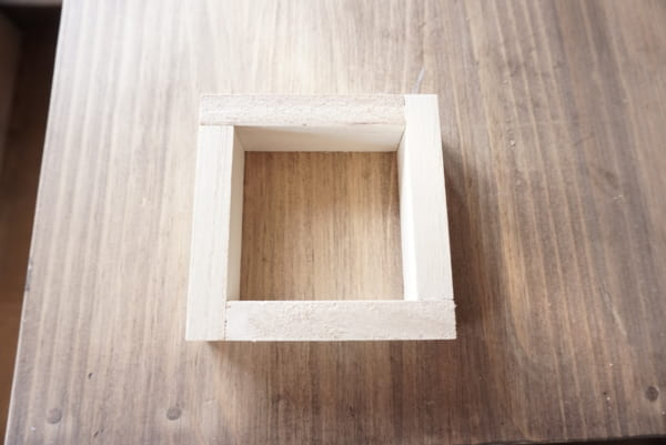 ダイソー 木箱 DIY2