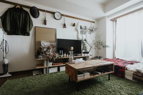 「木の質感」にこだわったローテーブル