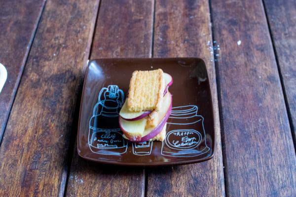 ホームパイで作る「カフェ風ホットアップルパイ」5