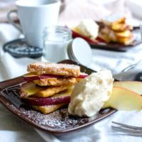 【連載】とても簡単!ホームパイで作る「カフェ風ホットアップルパイ」