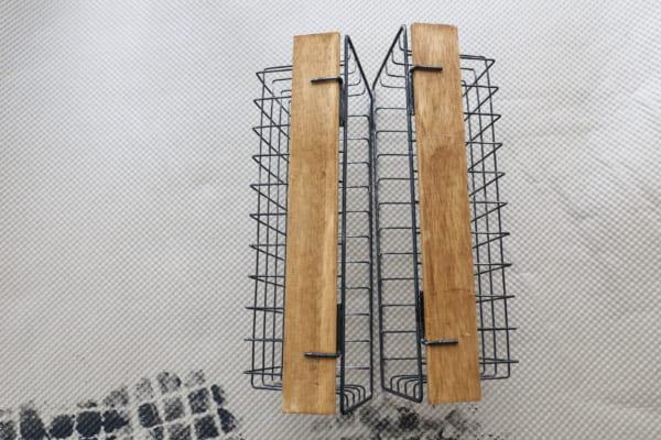 ワイヤーボックス DIY10