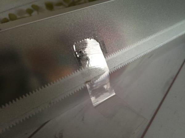100均セリアのラップホルダー マスキングテープ収納9
