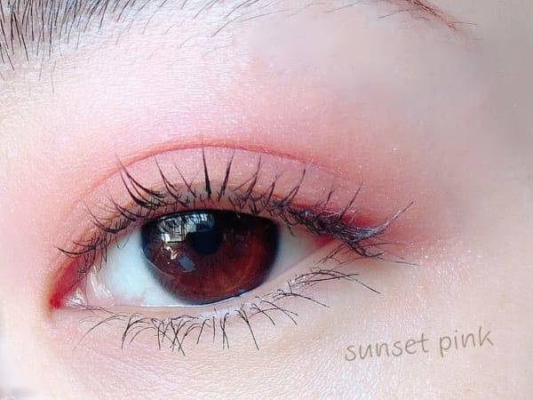 WHOMEE「アイシャドウパレット」 sunset pink2