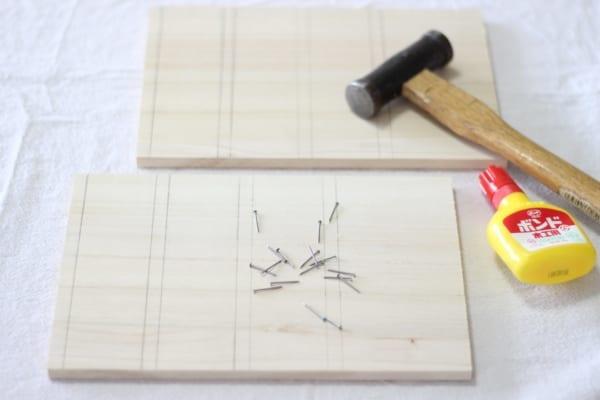セリア DIY 引き出し 作り方2