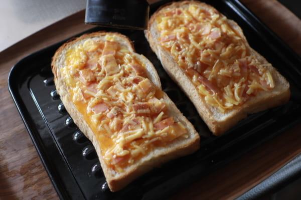 絶品!濃厚カルボトースト 作り方3