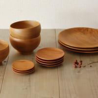 温もりのある雰囲気♪使い勝手が良くておしゃれに見える木製食器