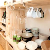 DIY家具がキッチンを主役にする。ふたり暮らしの広々LDK