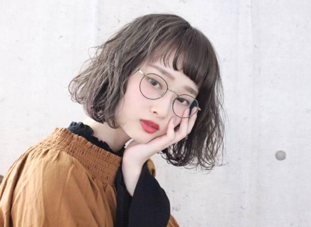 メガネ 前髪10