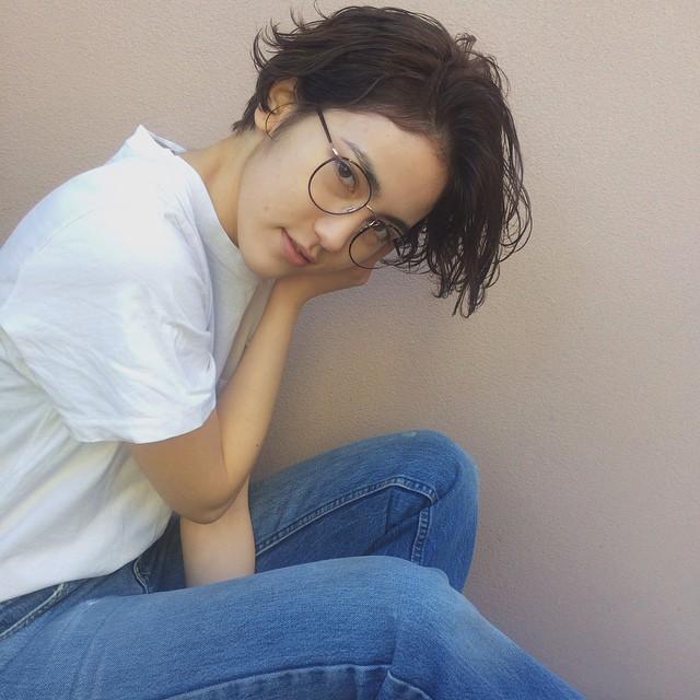 メガネ 前髪14